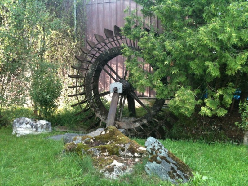 Wasserrad Pavolding