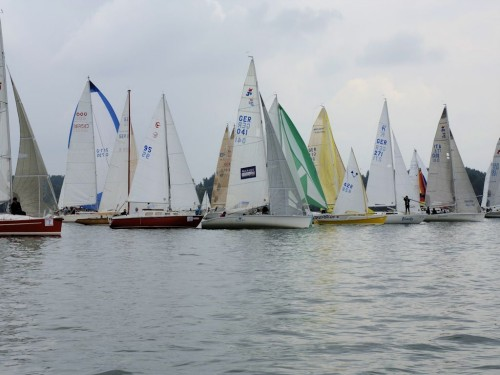 Regattas before Seebruck