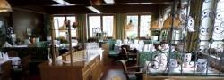Der Saal mit Seeblick