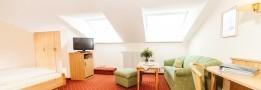 Komfort-Doppelzimmer Mansarde