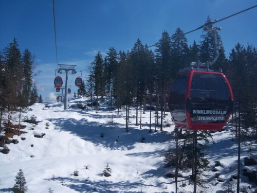 Ski resort Winklmoosalm-Steinplatte