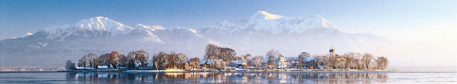 Fraueninsel im Winter