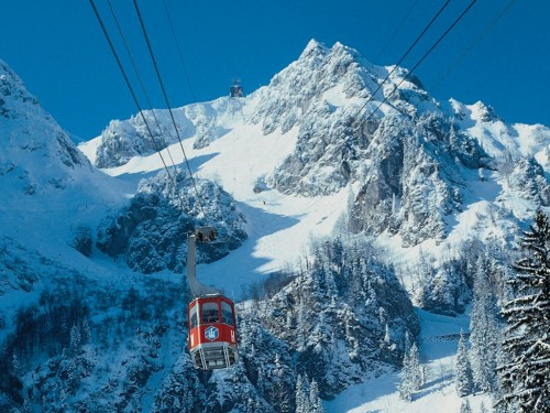 Ski center Hochfelln