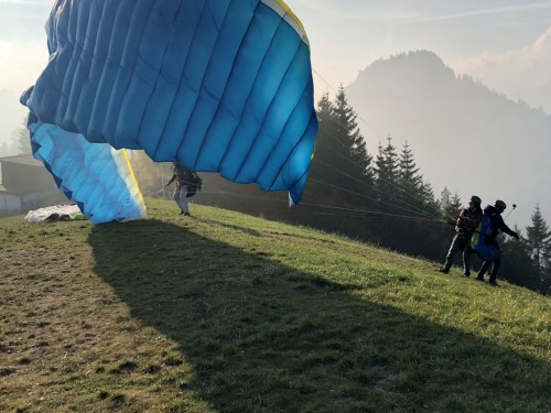 Paragliding in the Chiemgau