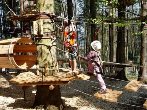 High ropes courses in Chiemgau