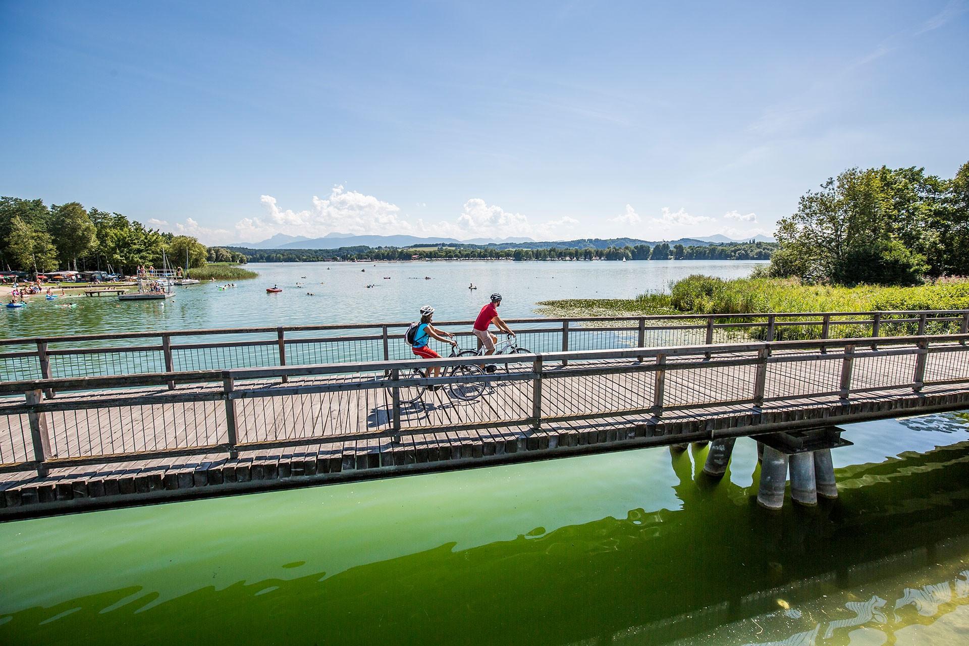 Aktiv - Radfahren am Chiemsee
