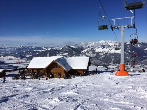 Skigebiet Hochkössen Tirol