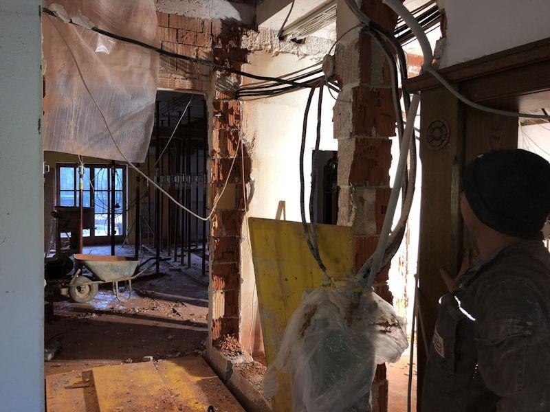 Gangblick altes Chefbüro  SeeHotel Wasserman Ihr Hotel am Chiemsee