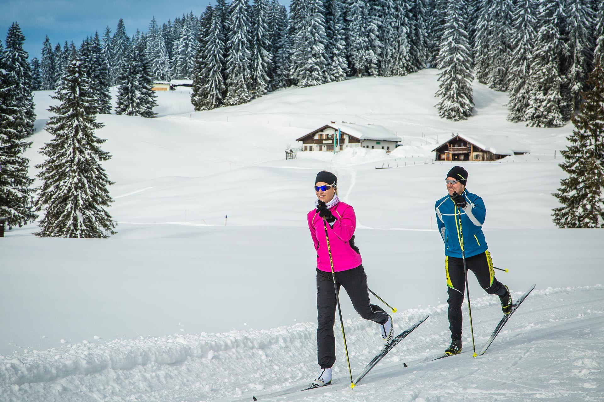 Langlaufen im Chiemgau