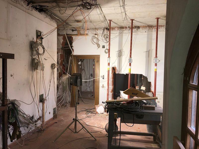 Kabelverhau Rezeption  SeeHotel Wasserman Ihr Hotel am Chiemsee