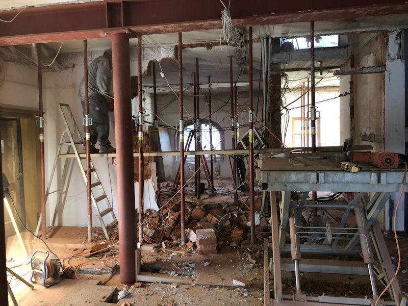 Durchblick Massage alte Büro  SeeHotel Wasserman Ihr Hotel am Chiemsee