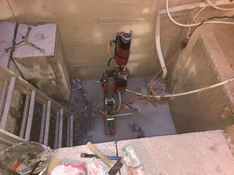 Wasser unterm Aufzugsfundament SeeHotel Wasserman Ihr Hotel am Chiemsee