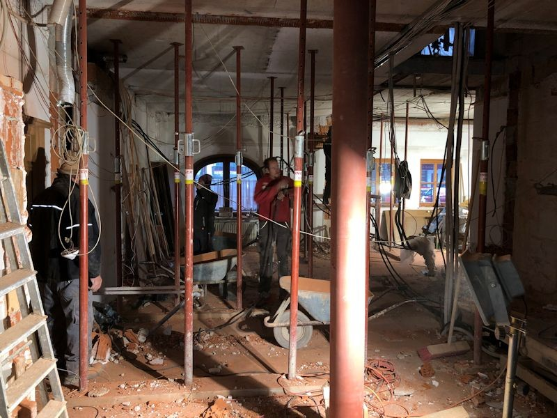 Blick Lobby in die neue Rezeption  SeeHotel Wasserman Ihr Hotel am Chiemsee