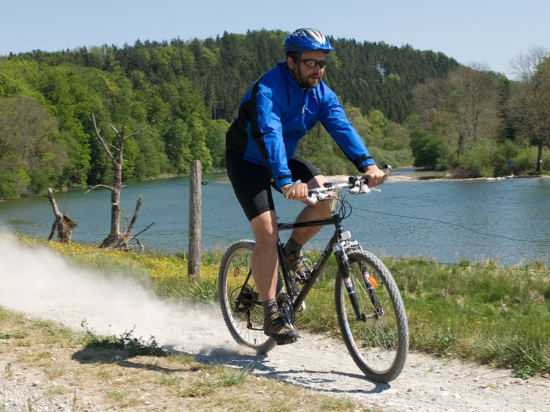 Radfahren am Chiemsee
