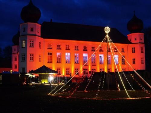 Weihnachtsmarkt Schloss Tüßling 2018