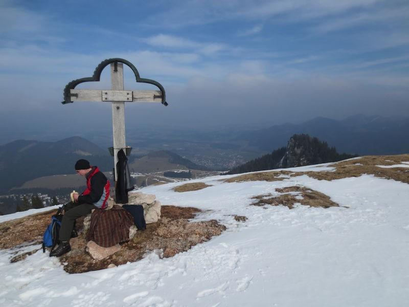 Gipfelkreuz am Laubenstein
