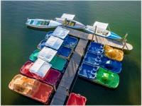 Bootsverleih von oben