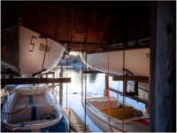 E-Boote Bootshütte