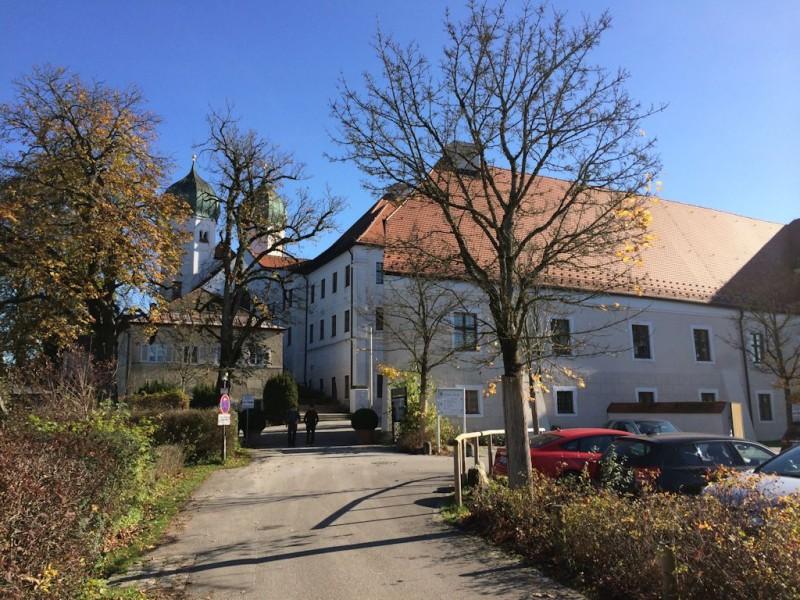 Kloster Seeon im Herbst