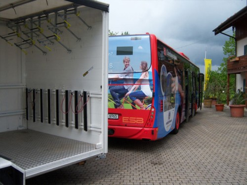 The Chiemsee ring bus line