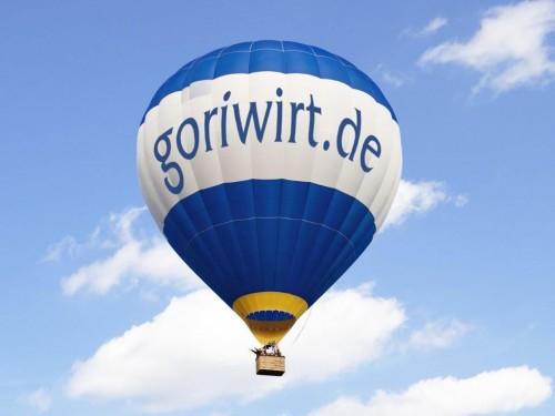 Ballooning on Lake Chiemsee
