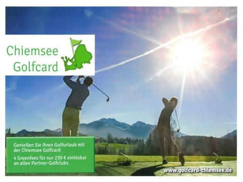 Golfen Chiemsee-Chiemgau
