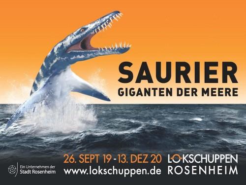 Saurier Ausstellung Lokschuppen RO