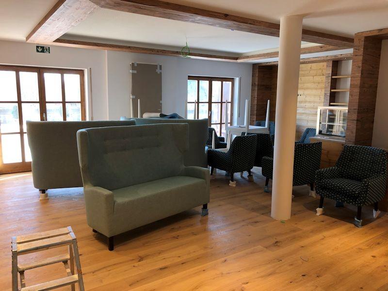 Möbel für die Lobby