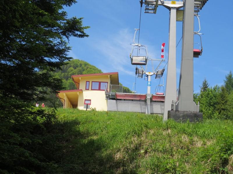 Bergstation Hochplattenbahn