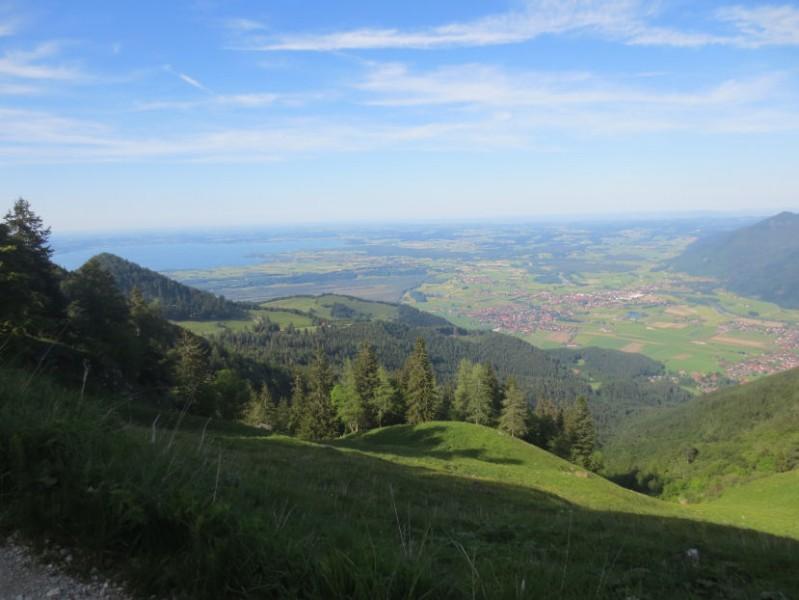 Staffnberg mit Chiemsee und Grassau