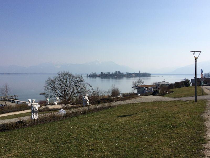 Radblick Fraueninsel