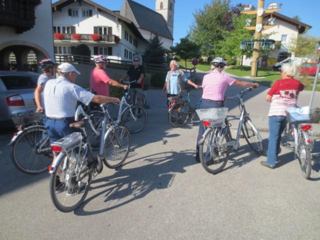 Geführte Radtour