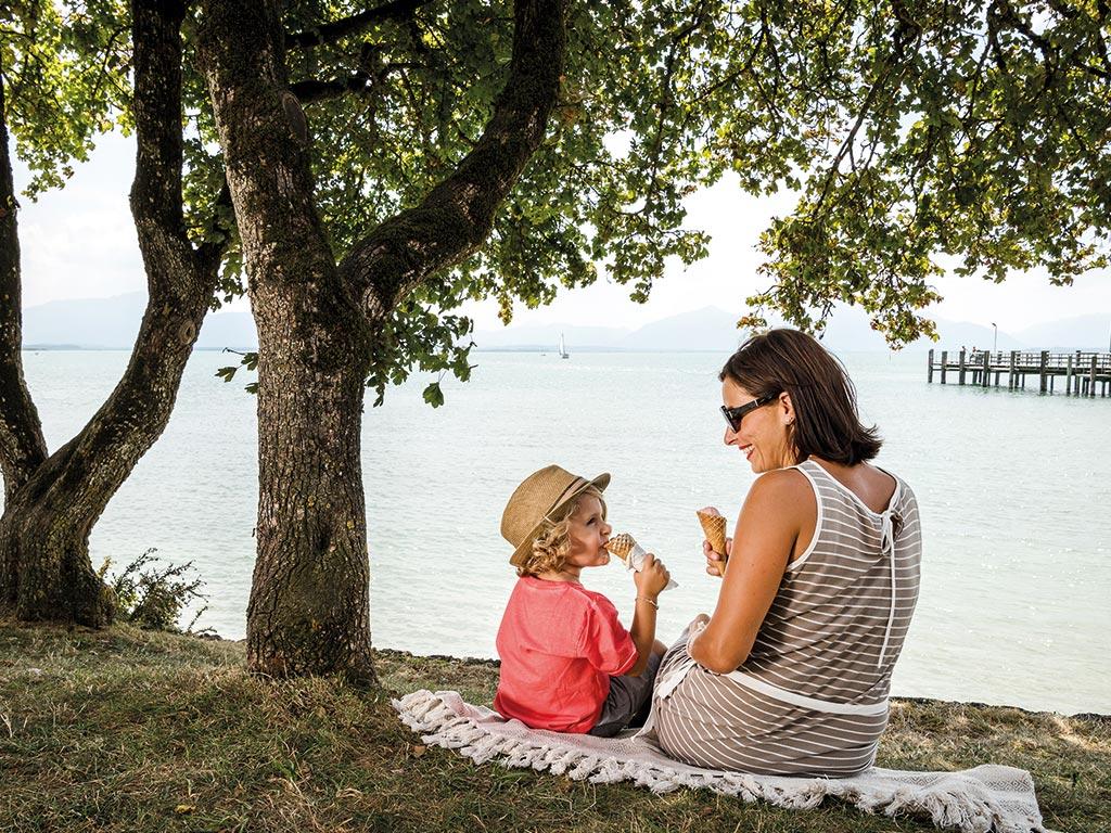 Urlaub am Chiemsee mit Familie