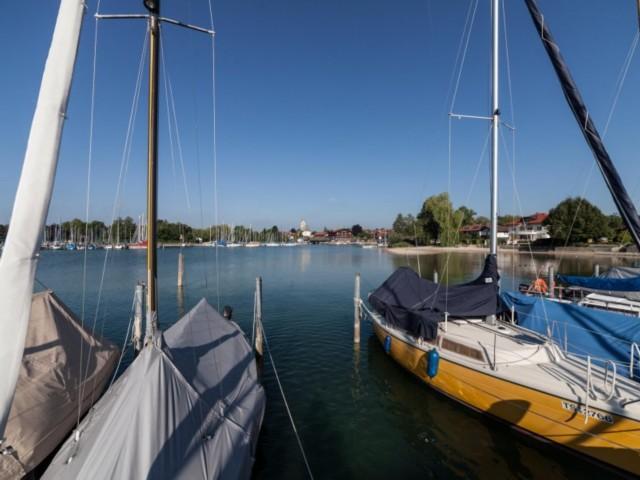 Ausblick Yachthafen